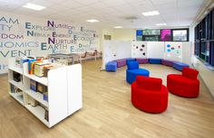 school interior design | ... shows its design flair in fantastic new school | Claughtons.com