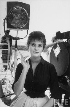 Sophia Loren by Alfred Eisenstaedt, Italy 1961
