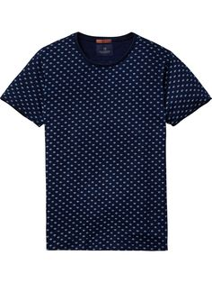 Indigo T-Shirt | T-shirts ss | Men Clothing at Scotch & Soda