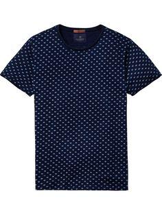 Camiseta índigo | Camisetas de manga corta | Ropa para hombre en Scotch & Soda