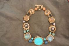 US $2,399.00  Stephen-Dweck-Sterling-Silver-Multi-Stone-Cameo-Necklace