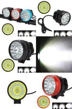 [Visit to Buy] Hunting Headlamp 40000LM XM-L T6 14x LED Bicycle Bike Lights Lamp Led Light flashLight #Advertisement