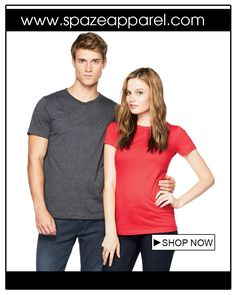 #bellacanvas #tshirt #men #women #unisex #summer Stay right on trend with comfortable T-shirts by Bella+Canvas  Bella+Canvas 3001U & Bella+Canvas 6004U