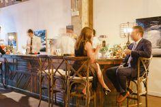 #bar  Planning: Atrendy Wedding Photography: Charlotte Jenks Lewis Photography - charlottejenkslewis.com   Read More on SMP: http://www.stylemepretty.com/2016/01/06/modern-elegant-urban-art-gallery-wedding/