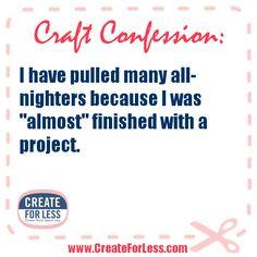 Craft Confession...