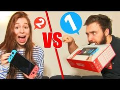 SWITCH CHALLENGE en COUPLE !! Nintendo 1-2 SWITCH DEFI FUN ! - YouTube