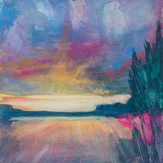 """Watercolor-Sister Golden   Art – """"Reveal"""" Print"""