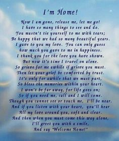 loss of a loved one poems | For my loved ones..... | Memorial Poems for My Loved Ones