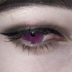 eyes, purple, and gothic image
