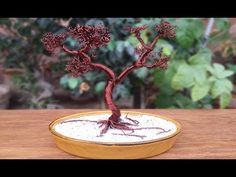How to Make a Wire Tree - YouTube