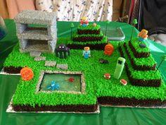 Coolest Minecraft cake!