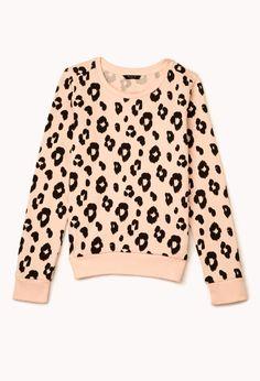 Darling Leopard Sweatshirt | FOREVER21 2000111283
