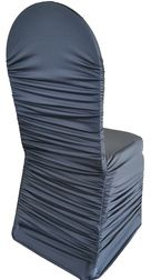 Rouge Spandex chair covers rental 718-744-8995, www.newyorksublimeevents.com Chair Cover Rentals, Chair Ties, Spandex Chair Covers, Sash, Style, Red, Swag, Outfits