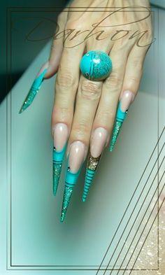 striped by Darhon - Nail Art Gallery nailartgallery.nailsmag.com by Nails Magazine www.nailsmag.com #nailart