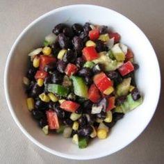 Black Bean Salsa   Organic Recipe Book