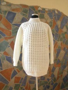Damen-/ Herren- Raglan- Pulli mit Struktur- Muster
