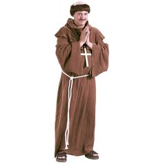 Medieval Monk Adult Plus size Costume >>> Check this awesome product by going to the link at the image.