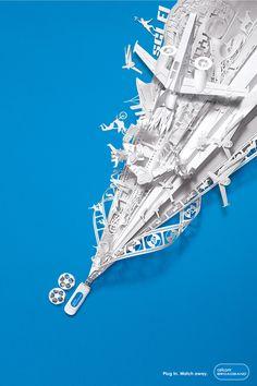 Paper Sculpture by James Seet