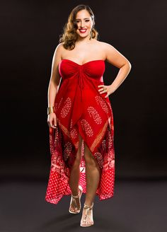 2c8e908f11aa5 Flyaway Chiffon Bandeau Top Cover-Up-Plus Size Cover-Ups-Ashley Stewart