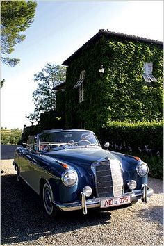nice vintage Mercedes, these cars have never been cheap but I can remember when you could pick one up for song :)