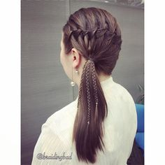 """147 tykkäystä, 10 kommenttia - Heli (@braidingbad) Instagramissa: """"Made this hairstyle for a dear coworker of mine and liked it so much, that I dubbed it her…"""""""
