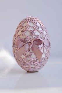 crochet egg coat