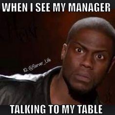 That server life
