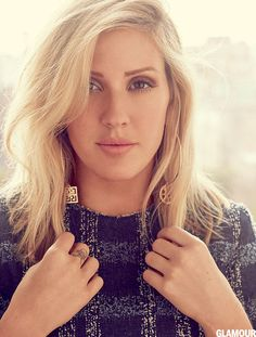 Speaking in a new interview to accompany a joint photoshoot, Ellie Goulding admits she has moments when she needs space from boyfriend Dougie Poynter. Ellie Goulding Hair, Les Charts, Ellie Golding, Dougie Poynter, Hollywood Music, Glamour Magazine, Celebs, Celebrities, Demi Lovato