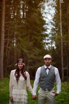 Swedish Boho Wedding Inspiration