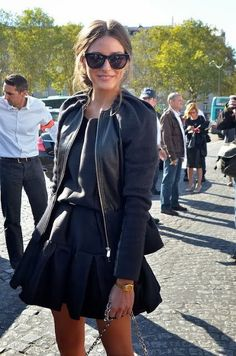 Fashion Icon: Olivia Palermo Street Style New York. Love everything about this outfit! Style Work, Mode Style, Her Style, Fashion Mode, Love Fashion, Autumn Fashion, Fashion Trends, Ethical Fashion, Skirt Fashion