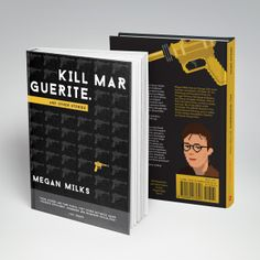 Book cover design for Kill Marguerite by Megan Milks. Published by Emergency Press.