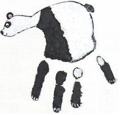 Handprint Panda