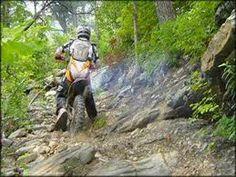dirt bike riding trails