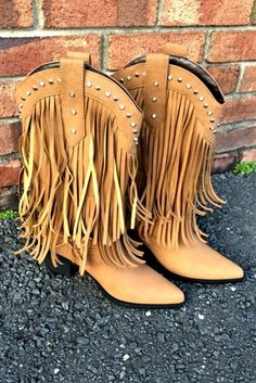 Four Strong Winds Fringe Boots - Tan $87.99 #SouthernFriedChics