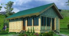 Woody Bufton Log Cabin Kit Only at Menards Little