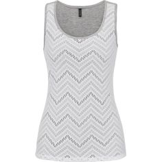 maurices Chevron Lace Front Scoop Neck Tank ($15) ❤ liked on Polyvore featuring tops, tanks, shirts, tank tops, bright white combo, neon tank, scoop neck tank top, chevron shirt, chevron print shirts and scoop neck tank