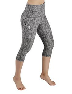 c2f5ece1b6358 Amazon.com: ODODOS High Waist Out Pocket Yoga Pants Tummy Control Workout  Running 4 · Pants For WomenYoga ...