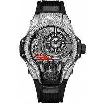 Hublot Masterpiece MP-09 Tourbillon Bi-Axis Titanio Diamantes Reloj