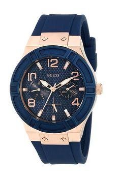 GUESS U0571L1 (Blue/Rose Gold) Watches - GUESS, U0571L1, U0571L1, Jewelry Watches General, Watches, Watches, Jewelry, Gift, - Street Fashion And Style Ideas