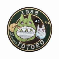 1988 My Neighbor Totoro Patch Embroidered by FlagPatchKingdom