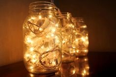 These would be so cute wedged between food jars as a way to light up a pantry! http://www.cosmopolitan.co.uk/worklife/campus/a35813/fairy-light-home-inspiration/