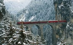 Glacier Express - The most amazing train ride, Switzerland Oh The Places You'll Go, Places To Travel, Places To Visit, Glacier Express, Beautiful World, Beautiful Places, Belle Villa, Zermatt, Napoleon Hill