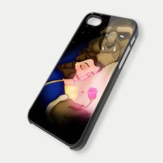 Beauty and the beast classic disney TM00- iPhone 5 Case - iPhone 4 / 4S Case. $14.99, via Etsy.