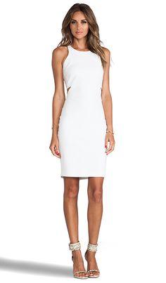 Elizabeth and James Lela Dress in White | REVOLVE