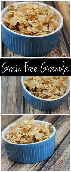 This grain free granola recipe is paleo & vegan. It's packed with protein and healthy fats and it's SO easy to make!