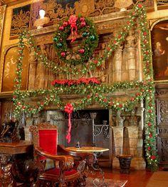 Hearst Castle Christmas Time- San Simeon Ca