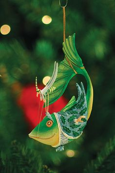 Krinkles Online - Krinkles LLS Catch of the Day Ornament, $38.00 (http://www.krinklesonline.com/krinkles-lls-catch-of-the-day-ornament/)
