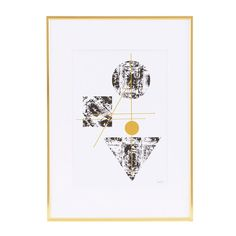 NY med ram 29,7x42cm – House Doctor – Köp online på Rum21.se
