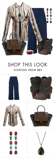 """""""zippers"""" by jeniferkcarsrud ❤ liked on Polyvore featuring Whistles, Not Rated, Jean-Paul Gaultier, Louis Vuitton, Alexander Laut, Bavna and Bulgari"""