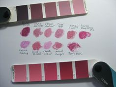 Everyday Beauty: Lipstick Comparisons: Plums